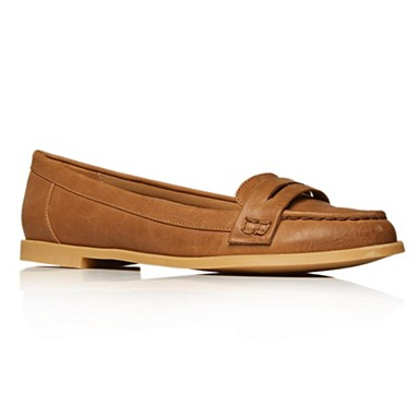 Tan Larry Flat shoes