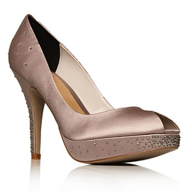 Taupe Hampton High heel shoes