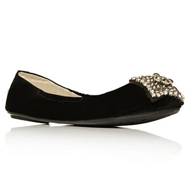 Black Lucky Flat shoes