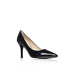 Nine West - Navy 'Flax3' high heel court shoes