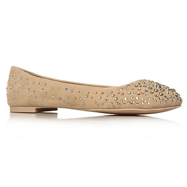 Nude Lindy Flat Shoes