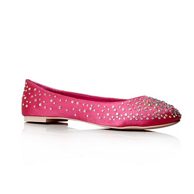 Pink Lindy Flat Shoes