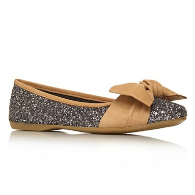 Metallic Lux Flat Shoes