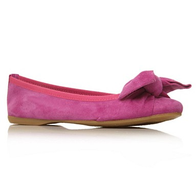 Purple Lux Flat Shoes