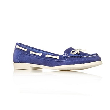 Blue Lawson Flat shoes
