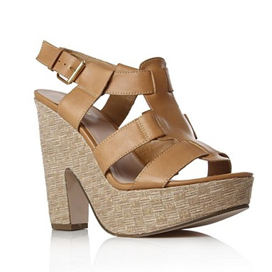 Tan Kofi High Heel Shoes