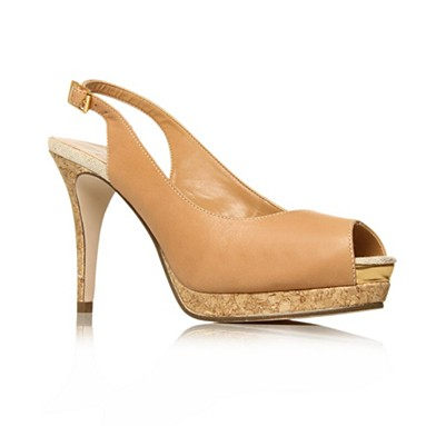 Tan Alanis High heel shoes