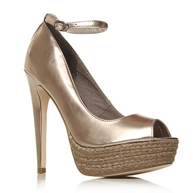 Metallic Ashby High heel shoes