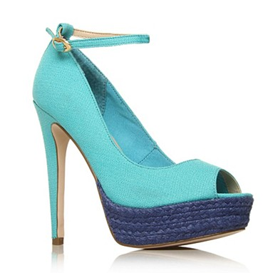 Blue Ashby High heel shoes