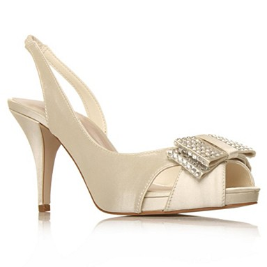 Cream Halston High Heel Shoes
