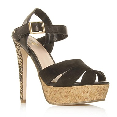 Black Marilyn High Heel Shoes