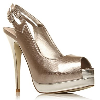Silver Blanche High heel shoes