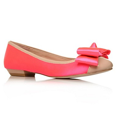 Pink Little Flat Shoes