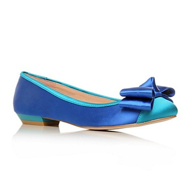 Blue Little Flat Shoes