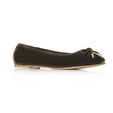 Black Heidi Flat shoes
