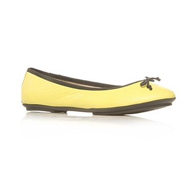 Yellow Harriet Flat Shoes