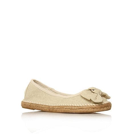 Miss KG - Miss KG Marty white canvas flats