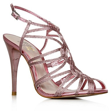 Pink Papparazi High Heel Shoes