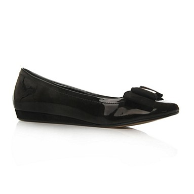 Black Lucy Flat Shoes