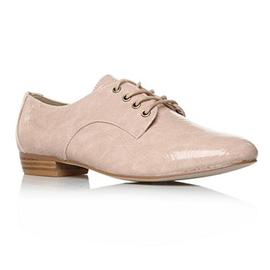 Nude Lincoln Flat Shoes