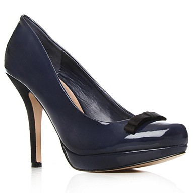 Navy Damson High Heel Shoes