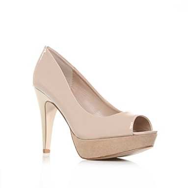 Nude Bounty High Heel Shoes