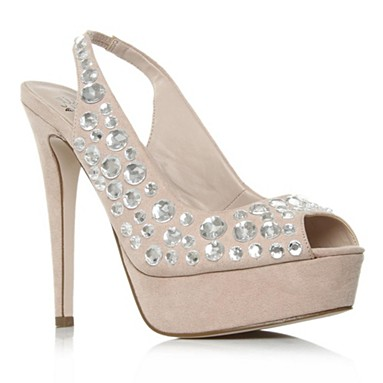 Nude Poser High Heel Shoes