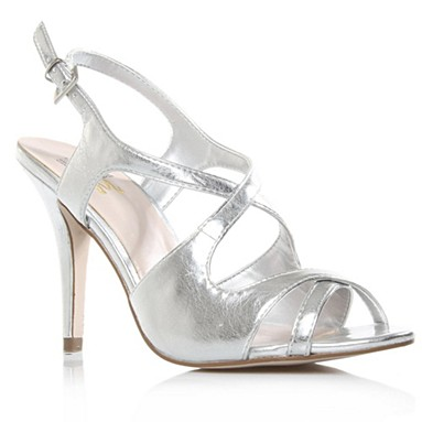 Silver Halle High Heel Shoes