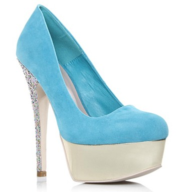 Blue Ramona High Heel Shoes