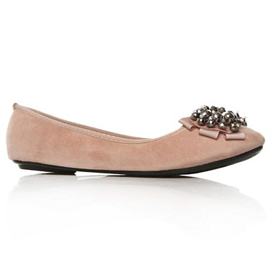 Nude Lolita Flat Shoes
