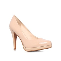 Nine West - Nude 'Rocha' high heeled courts