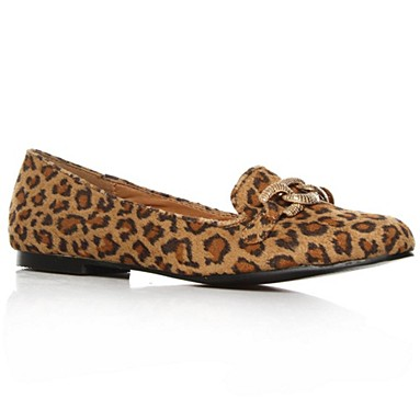 Tan Leroy Flat Shoes