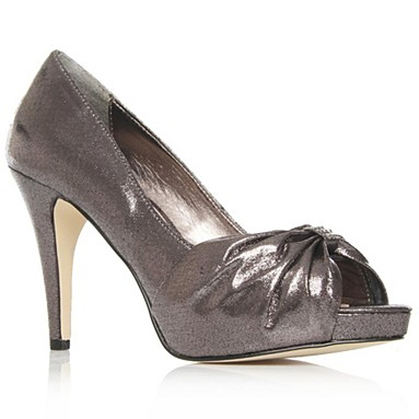 Metallic Henrietta High Heel Shoes