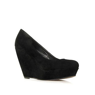 Black Cairo High Heel Shoes