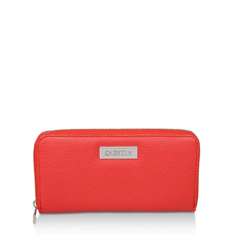 Carvela Orange 'Annabelle Zip Wallet' Purse - MISC - Purses (5059093339493) photo