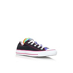 Converse - Blk/other 'ct multi tng low' lace up trainer