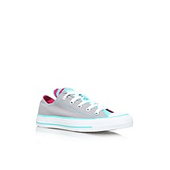 Converse - Blue 'CT' lace up low top sneaker