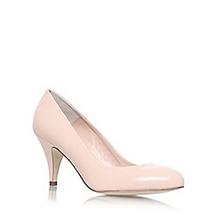 Carvela - Nude 'Adam' mid heel court shoes