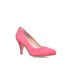 Carvela - Red combination 'Adam' mid heel high court shoe
