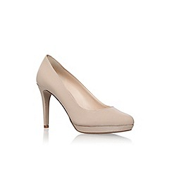Nine West - Nude 'Drusilla 3' high heel court shoe
