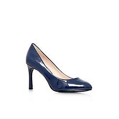 Nine West - Navy 'Drusilla3' high heel court shoe