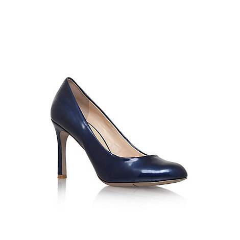 Nine West - Navy +Drusilla 3+ high heel court shoe