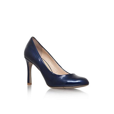 Nine West - Navy + Drusilla3 + mid heel court shoes