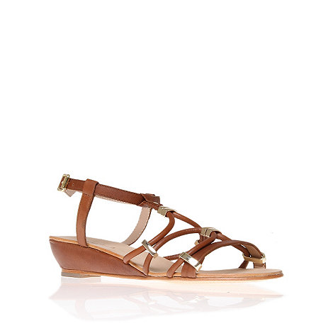 Carvela - Tan strap leather summer sandal