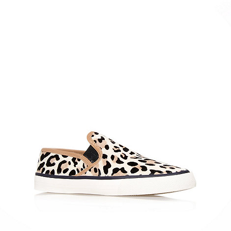 Carvela - Leopard +Laurel+ slip on trainer pump
