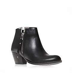 Carvela - Black 'scampy' mid heel ankle boots