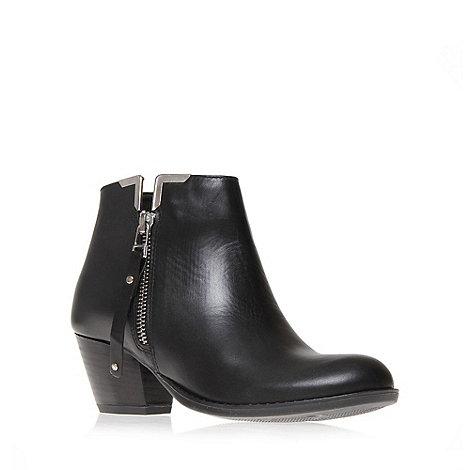 Carvela - Black +scampy+ mid heel ankle boots