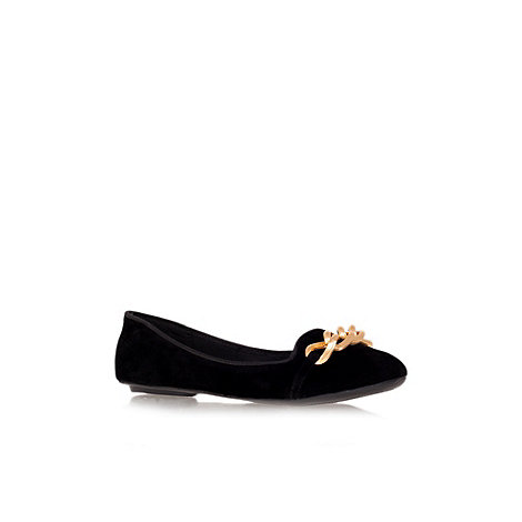 Miss KG - Black +Monty+ flat shoe