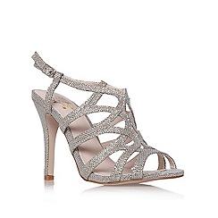 Miss KG - Miss KG Gertrude gold high heel sandals