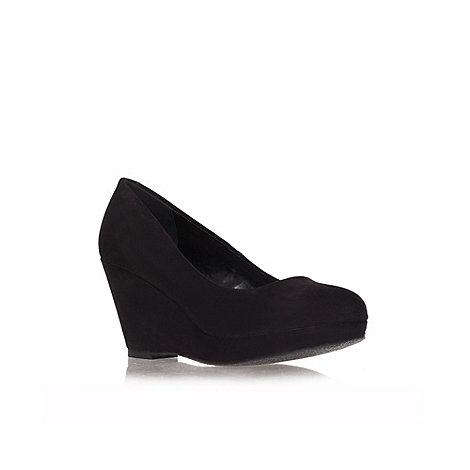 Miss KG - Miss KG Candy black wedge courts
